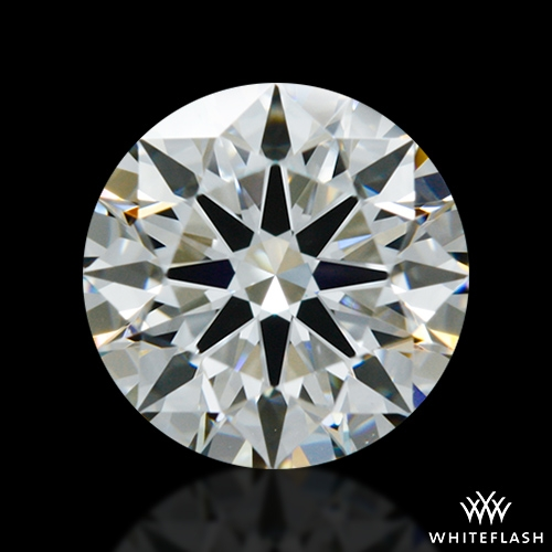 0.902 ct I VS1 A CUT ABOVE® Hearts and Arrows Super Ideal Round Cut Loose Diamond