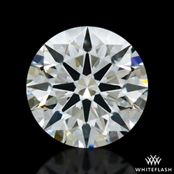 0.702 ct I VS1 A CUT ABOVE® Hearts and Arrows Super Ideal Round Cut Loose Diamond