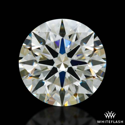 0.337 ct K SI1 A CUT ABOVE® Hearts and Arrows Super Ideal Round Cut Loose Diamond