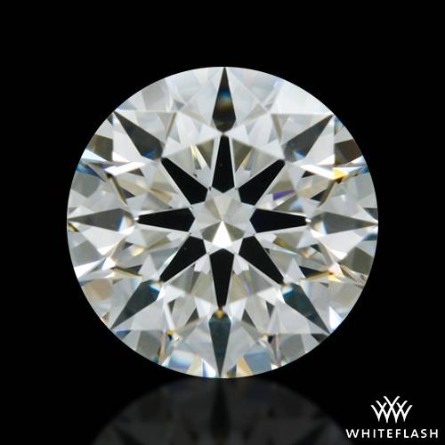 0.433 ct I SI1 A CUT ABOVE® Hearts and Arrows Super Ideal Round Cut Loose Diamond