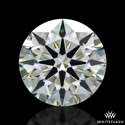 0.407 ct J SI1 A CUT ABOVE® Hearts and Arrows Super Ideal Round Cut Loose Diamond