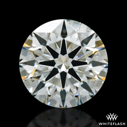 0.581 ct J VS2 A CUT ABOVE® Hearts and Arrows Super Ideal Round Cut Loose Diamond