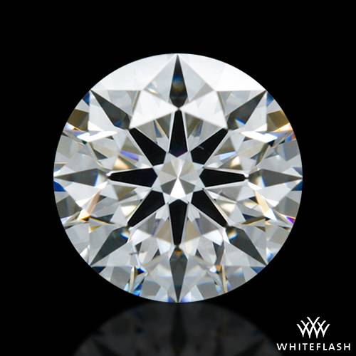 0.714 ct D VS2 A CUT ABOVE® Hearts and Arrows Super Ideal Round Cut Loose Diamond