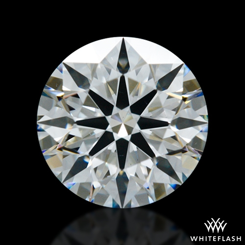 0.751 ct G VS2 A CUT ABOVE® Hearts and Arrows Super Ideal Round Cut Loose Diamond