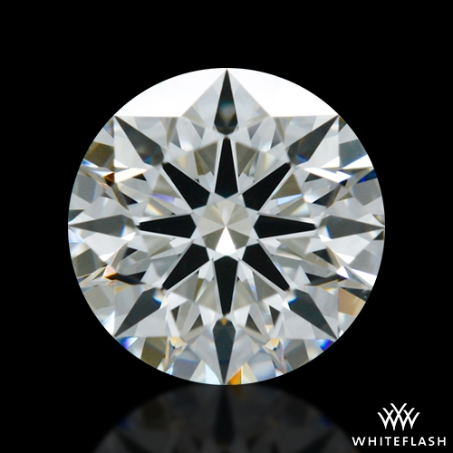 0.723 ct H VS1 A CUT ABOVE® Hearts and Arrows Super Ideal Round Cut Loose Diamond