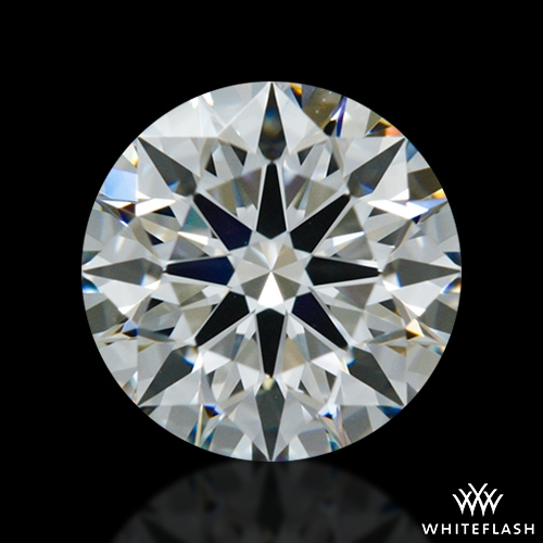 0.702 ct H VS1 A CUT ABOVE® Hearts and Arrows Super Ideal Round Cut Loose Diamond