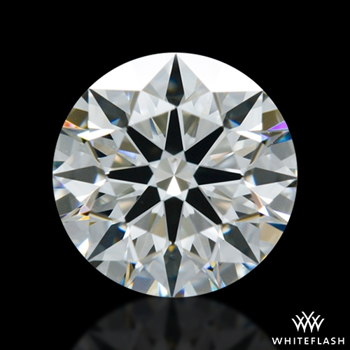 0.744 ct H VS2 A CUT ABOVE® Hearts and Arrows Super Ideal Round Cut Loose Diamond