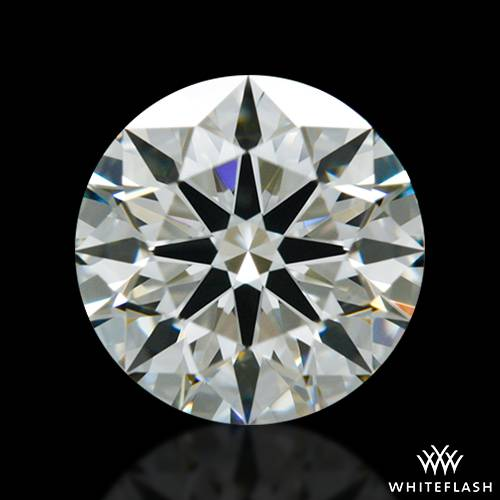 0.801 ct K VS2 A CUT ABOVE® Hearts and Arrows Super Ideal Round Cut Loose Diamond