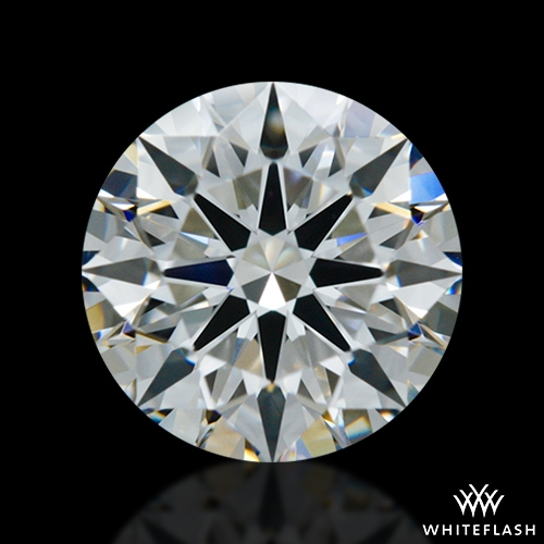 0.902 ct G VS1 A CUT ABOVE® Hearts and Arrows Super Ideal Round Cut Loose Diamond