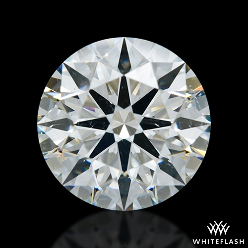 1.624 ct H SI1 A CUT ABOVE® Hearts and Arrows Super Ideal Round Cut Loose Diamond