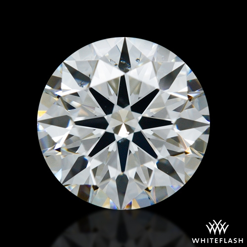 1.046 ct G SI1 A CUT ABOVE® Hearts and Arrows Super Ideal Round Cut Loose Diamond