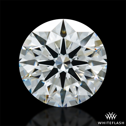 1.104 ct F VS1 A CUT ABOVE® Hearts and Arrows Super Ideal Round Cut Loose Diamond