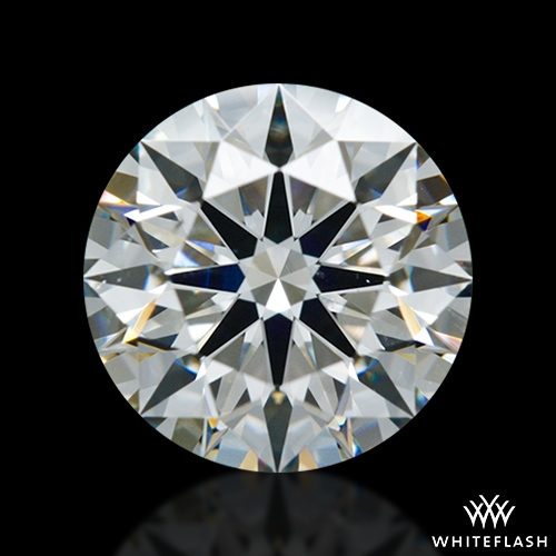 1.246 ct H SI1 A CUT ABOVE® Hearts and Arrows Super Ideal Round Cut Loose Diamond