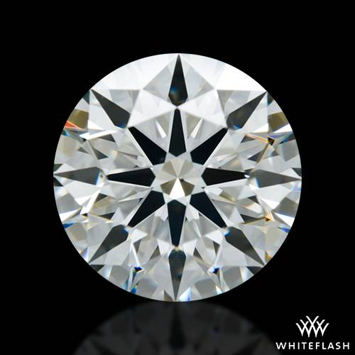 1.268 ct I VS2 A CUT ABOVE® Hearts and Arrows Super Ideal Round Cut Loose Diamond