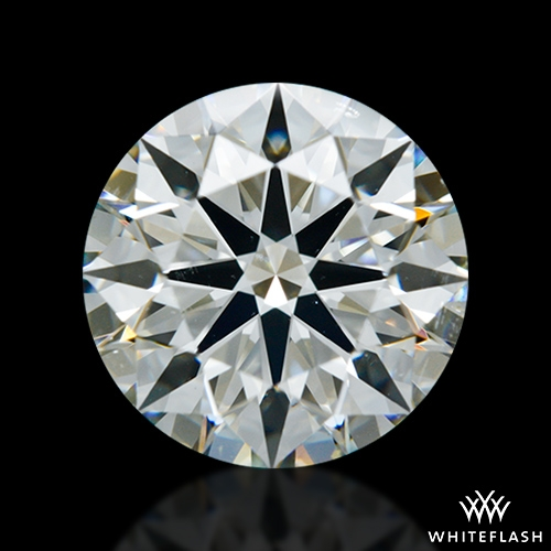 1.608 ct J SI1 A CUT ABOVE® Hearts and Arrows Super Ideal Round Cut Loose Diamond