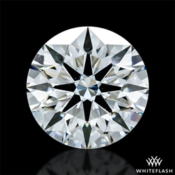 1.344 ct G VS1 A CUT ABOVE® Hearts and Arrows Super Ideal Round Cut Loose Diamond