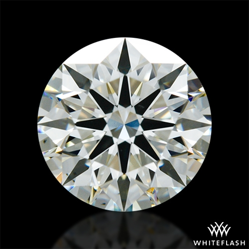 1.406 ct K VS2 A CUT ABOVE® Hearts and Arrows Super Ideal Round Cut Loose Diamond