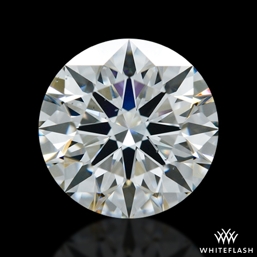 1.502 ct F VS2 A CUT ABOVE® Hearts and Arrows Super Ideal Round Cut Loose Diamond
