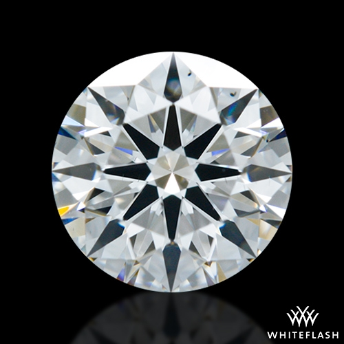 0.832 ct E VS2 A CUT ABOVE® Hearts and Arrows Super Ideal Round Cut Loose Diamond