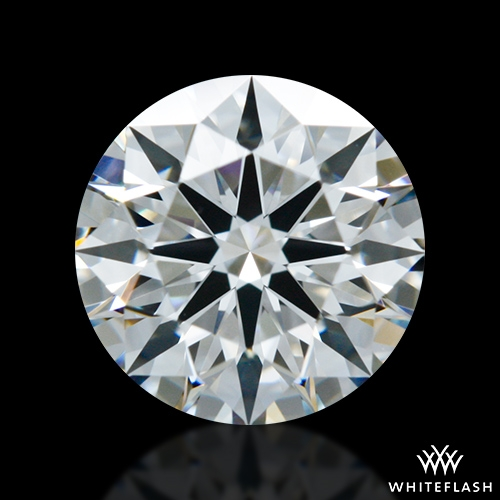 0.85 ct F VS1 A CUT ABOVE® Hearts and Arrows Super Ideal Round Cut Loose Diamond
