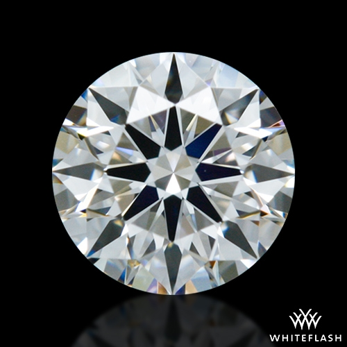 0.41 ct E VVS1 A CUT ABOVE® Hearts and Arrows Super Ideal Round Cut Loose Diamond