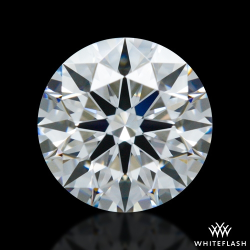 0.408 ct E VVS2 A CUT ABOVE® Hearts and Arrows Super Ideal Round Cut Loose Diamond