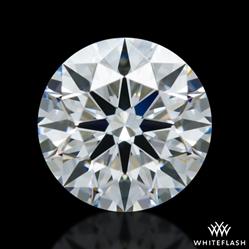 0.408 ct E VVS2 A CUT ABOVE® Hearts and Arrows Super Ideal Round Cut Loose Diamond