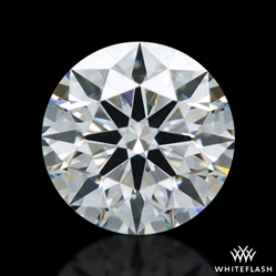0.522 ct F VVS2 A CUT ABOVE® Hearts and Arrows Super Ideal Round Cut Loose Diamond