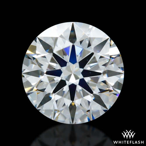 0.613 ct E VVS2 A CUT ABOVE® Hearts and Arrows Super Ideal Round Cut Loose Diamond