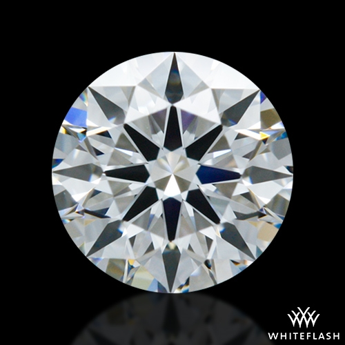 0.507 ct D VVS1 A CUT ABOVE® Hearts and Arrows Super Ideal Round Cut Loose Diamond