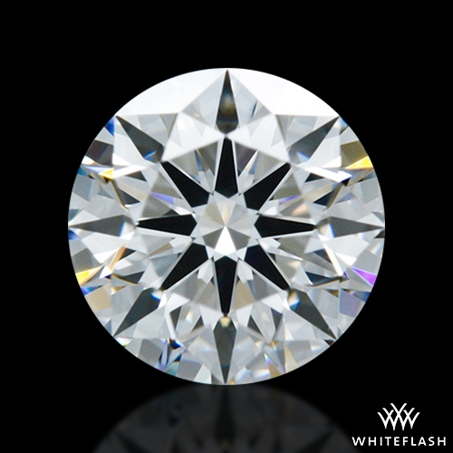 0.638 ct D VVS2 A CUT ABOVE® Hearts and Arrows Super Ideal Round Cut Loose Diamond
