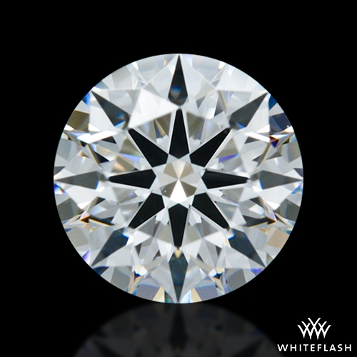 0.806 ct E VVS2 A CUT ABOVE® Hearts and Arrows Super Ideal Round Cut Loose Diamond