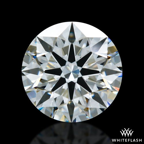 0.701 ct J VS2 A CUT ABOVE® Hearts and Arrows Super Ideal Round Cut Loose Diamond