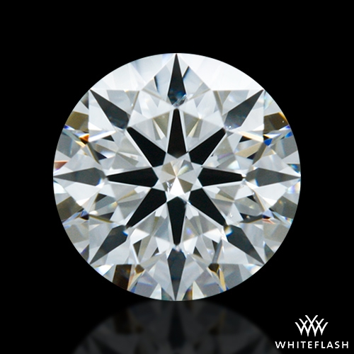 0.702 ct H SI1 A CUT ABOVE® Hearts and Arrows Super Ideal Round Cut Loose Diamond