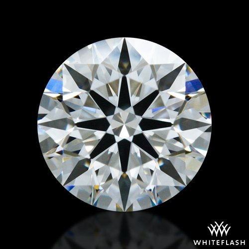 0.702 ct I VS2 A CUT ABOVE® Hearts and Arrows Super Ideal Round Cut Loose Diamond