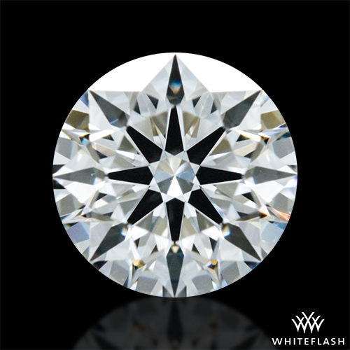 0.617 ct J VS2 A CUT ABOVE® Hearts and Arrows Super Ideal Round Cut Loose Diamond