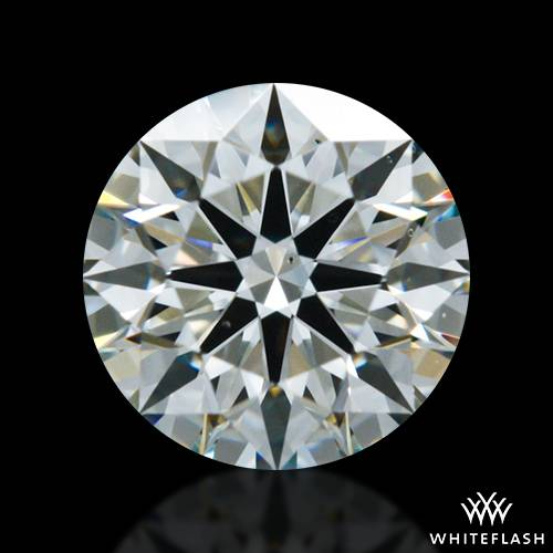 0.516 ct J VS2 A CUT ABOVE® Hearts and Arrows Super Ideal Round Cut Loose Diamond