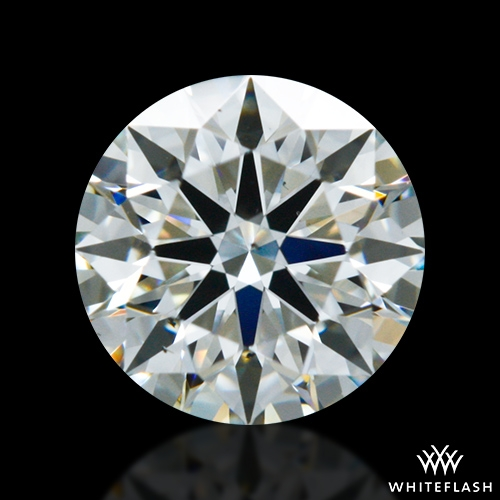 0.533 ct K VS2 A CUT ABOVE® Hearts and Arrows Super Ideal Round Cut Loose Diamond