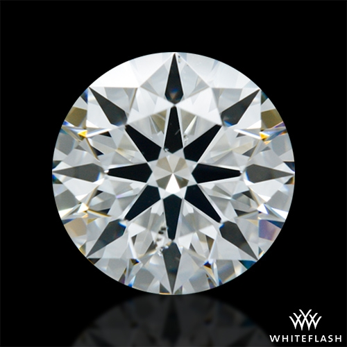 1.21 ct H SI1 A CUT ABOVE® Hearts and Arrows Super Ideal Round Cut Loose Diamond