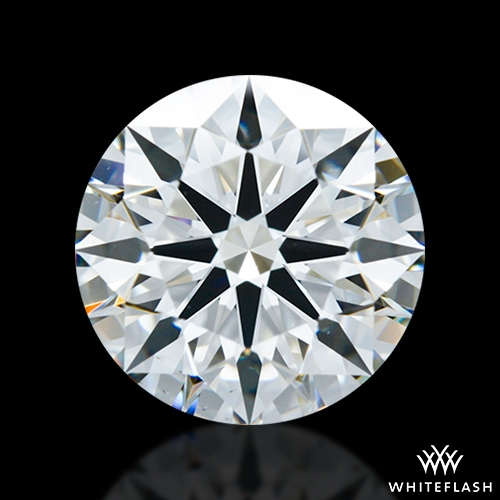 2.014 ct H VS2 A CUT ABOVE® Hearts and Arrows Super Ideal Round Cut Loose Diamond