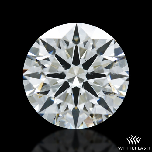 0.727 ct J SI1 A CUT ABOVE® Hearts and Arrows Super Ideal Round Cut Loose Diamond