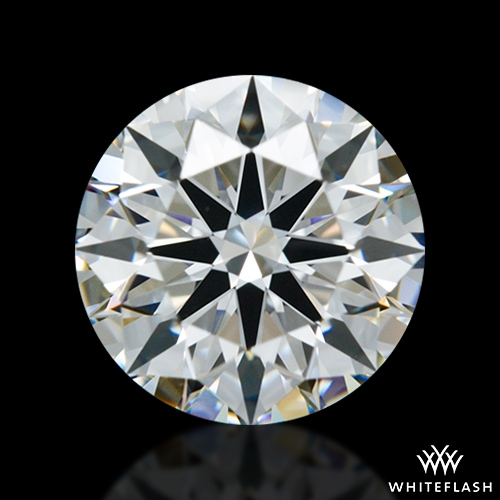 1.304 ct G VS1 A CUT ABOVE® Hearts and Arrows Super Ideal Round Cut Loose Diamond