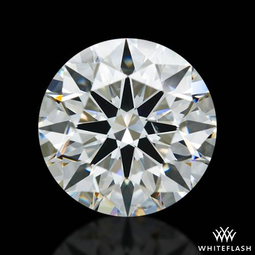 1.603 ct H SI1 A CUT ABOVE® Hearts and Arrows Super Ideal Round Cut Loose Diamond