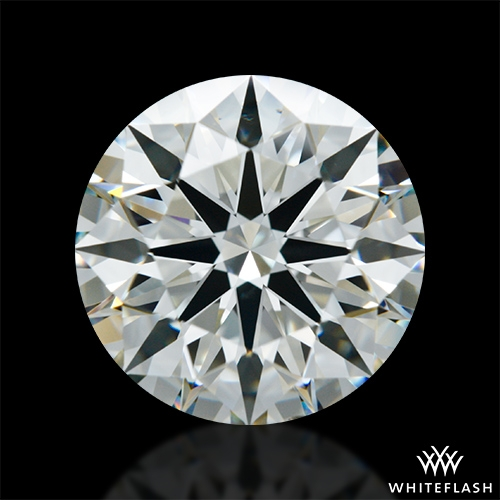 2.218 ct J VS2 A CUT ABOVE® Hearts and Arrows Super Ideal Round Cut Loose Diamond