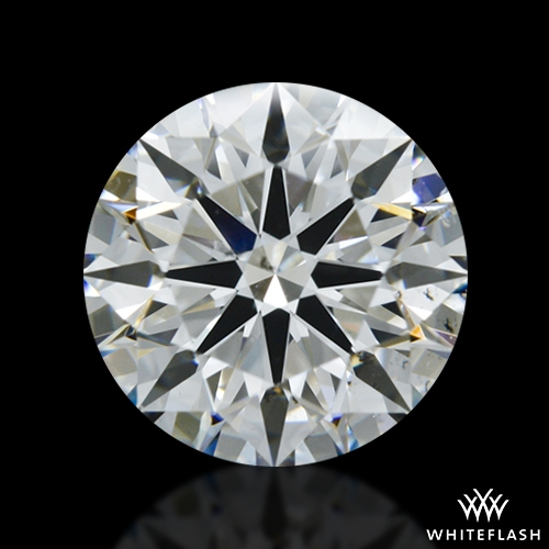 1.282 ct G SI1 A CUT ABOVE® Hearts and Arrows Super Ideal Round Cut Loose Diamond