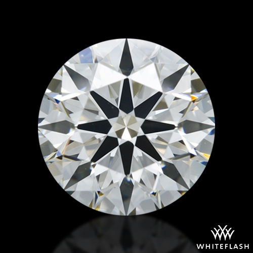 1.222 ct J VS2 A CUT ABOVE® Hearts and Arrows Super Ideal Round Cut Loose Diamond