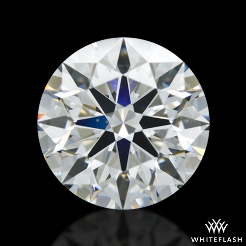 1.312 ct J VS2 A CUT ABOVE® Hearts and Arrows Super Ideal Round Cut Loose Diamond