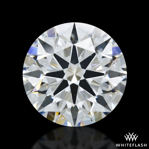1.527 ct E VS2 A CUT ABOVE® Hearts and Arrows Super Ideal Round Cut Loose Diamond