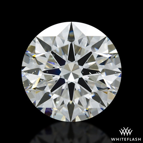1.592 ct I SI1 A CUT ABOVE® Hearts and Arrows Super Ideal Round Cut Loose Diamond