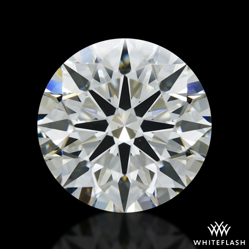 1.962 ct J VS2 A CUT ABOVE® Hearts and Arrows Super Ideal Round Cut Loose Diamond